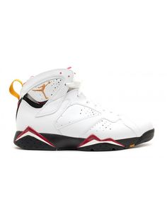 newest 38f14 257c2 Air Jordan 7 Retro 2011 Cardinal White Black Cardinal Red Bronze 304775 104