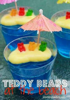Teddy Bears At The Beach | DIY Beach Party Ideas For Your Beach-Themed Celebration