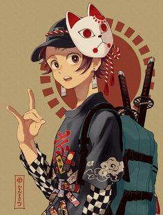 ななミツ on - Anime/Manga Bilder - Anime Otaku Anime, Anime Boys, Manga Anime, Anime Demon, Anime Art, Manga Art, Demon Slayer, Slayer Anime, Chibi