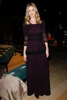 Donna Air in Burberry Prorsum