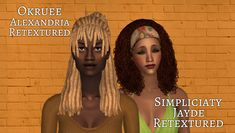 Sims 2, Alexandria, Hair, Alexandria Egypt, Strengthen Hair