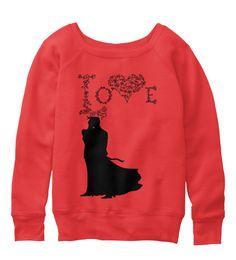 BELLA+CANVAS Women's Slouchy Sweatshirt (Valentine's Day)