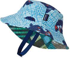 58566e46c19 Patagonia Reversible Baby Sun Bucket Hat - Infant Toddler Boys