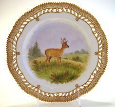 Royal Copenhagen Flora Danica Dinnerware | Cervus Capreolus - Flora Danica by Royal Copenhagen | Lovely China