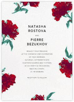 Pop Carnation (Invitation) - Paperless Post