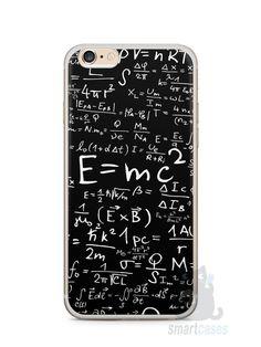 Capa Iphone 6/S Plus Teoria da Relatividade Einstein - SmartCases - Acessórios para celulares e tablets :)