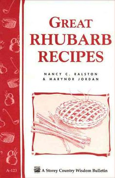 The words rhubarb and pie are so synonymous that it's no wonder rhubarb is also known as pieplant . But there's much more to be done with rhubarb than make a pie! Rhubarb is delicious at breakfast, lu
