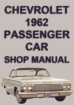chevrolet 1964 impala convertible roof service and repair manual rh pinterest com 1963 chevrolet impala assembly manual 1962 impala assembly manual pdf