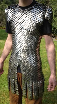 Scale mail armor