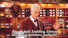 What woman can resist a British accent? | Community Post: 24 Reasons Why Buffy Should Have Chosen Spike
