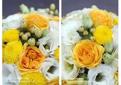 Baiciurina Olga's Design Room: Яркий желто-белый букет невесты-Bright yellow&white wedding bouquet.