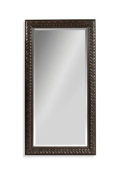 Newcombe Fruitwood Color Wood Leaner Mirror