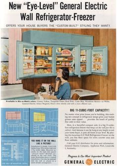 This is an interesting refrigerator concept. It certainly saves space!