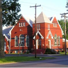 First Christian Church, Knoxville, IL. My father is the Pastor there. This church has been a part of our family all of my life. It was possible for my daughters to be baptized by their Grandfather in the same place I was.