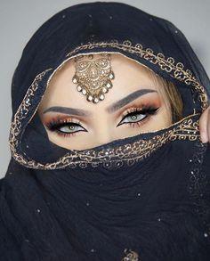 Pinterest: @idaliax0✨ #arabicmakeup