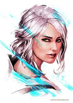 Ciri - The Witcher 3 by YamaOrce.deviantart.com on @DeviantArt