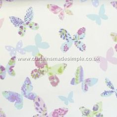 Butterfly - Lavender - Butterfly Gardens Fabric Collection ( PT-5860-805)