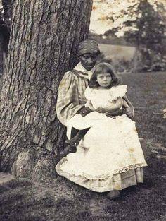 Slave Nannie during the 19th century antebellum
