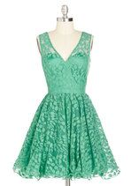Darling, Please Dress in Jade | Mod Retro Vintage Dresses | ModCloth.com