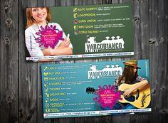 Flyer // VARCOBIANCO laboratorio musicale  #grafica #stampa #flyer #studioclem #music #cool #instaflyer