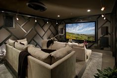 man cave with comfortable chairs
