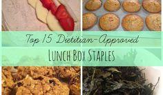 15 Dietitian-Approved Lunch Box Staples :: YummyMummyClub.ca