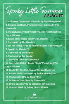 Halloween Playlist, Halloween Music, Halloween Ideas, Ted Cassidy, House Of The Rising Sun, Graveyard Shift, Song Suggestions, Song List, Playlists