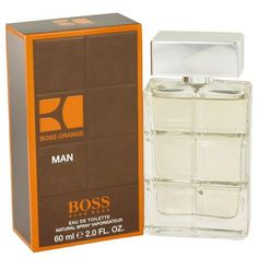 Boss Orange by Hugo Boss Eau De Toilette Spray 2 oz