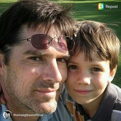 photo posted by Thomas Gibson on the instagram (@thomasgibsonofficial).