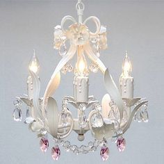 Harrison Lane Garden 4 Light Crystal Chandelier & Reviews | Wayfair