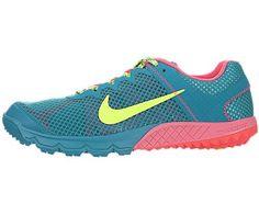 544da83cae3 Womens Nike Zoom Terra Wildhorse Running Shoe 599121 363 Tropical Teal  Flash Lime Atomic Red WOMEN