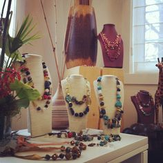 African inspired runway pieces available in the showroom!