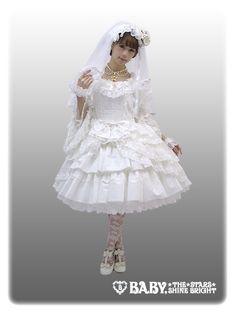 Mariée Éternelle【one-piece dress + head dress + vail set】【build-to-order manufacturing】