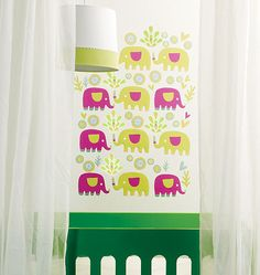 Wallies Elephants Peel and Stick Wall Stickers  sc 1 st  Pinterest & 9 best Wallies Baby Wall decor images on Pinterest | Wall decals ...