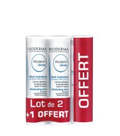 Bioderma ATODERM LIPS Moisturising Stick (3-PACK), Exp 10/2021 Bioderma Atoderm, Bioderma Products, Drink Bottles, Lip Balm, Health And Beauty, Conditioner, Packing, Lips, Beauty Products