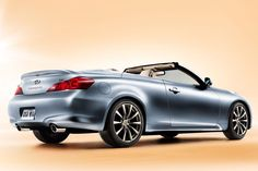 Another awesome beautiful car - Infinity G37 Convertible