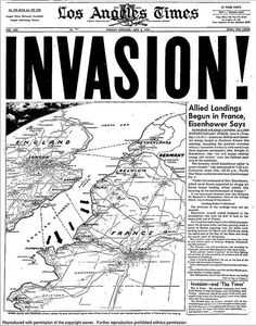 Los Angeles Times D-Day