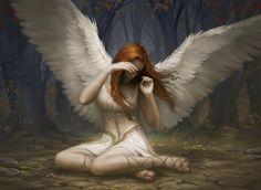 Beautiful Angel Art | alpha coders art abyss fantasy angels lost angel