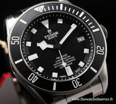 Bâle 2015 Tudor Pelagos noire