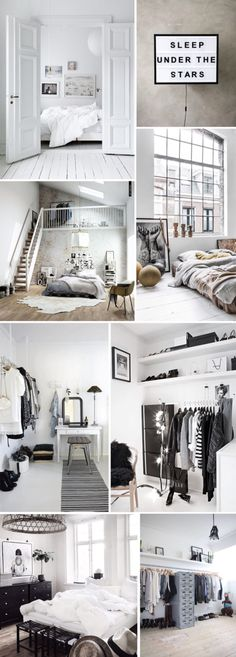 Home Decoration Ideas: Beautiful minimalist monochrome interior design inspiration.