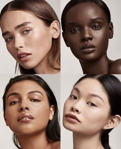 Rihanna created Fenty Beauty makeup for all skin colors, all undertones, from all countries. Foundation in 40 shades, skinsticks in 30 shades, made for you. Fenty Beauty