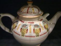 Emma Bridgewater Studio Special OWLS Gallon Teapot for Fulham Re-Opening 2010 (£500)