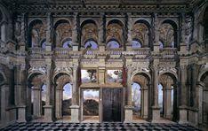 TASSI, Agostino Simulated loggia architecture with landscape views 1619-21 Fresco Palazzo Lancellotti, Rome