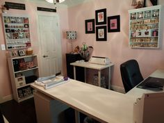Nancy's Craft Studio - traditional - home office - houston - Nancy