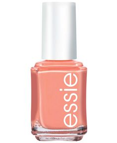 Spring 2015 Trend: Crazy for a coral mani, Essie Tart Deco