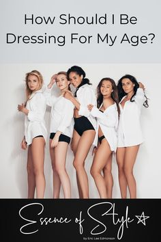 Have you ever thought to yourself, how should I dress for my age? If you have, you may want to read more about my perspective. Business Casual Men, White Shirts, Mens Clothing Styles, Looking For Women, Daily Fashion, Casual Looks, Nice Dresses, Fashion Outfits, Fashion Trends