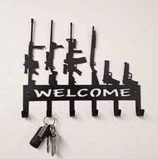 Gun Family Wall Hanger
