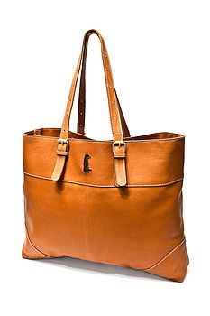 c6e47970094 BETTY   BETTS. Large Leather Tote