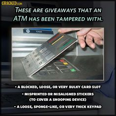 safety tips tampered atm