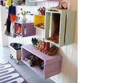 Tips til oppbevaring av sko i gangen